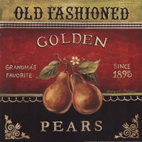 Golden Pears Fine-Art Print