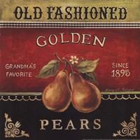 Golden Pears Fine-Art Print
