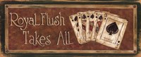 Royal Flush Takes All Fine-Art Print
