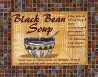Black Bean Soup Fine-Art Print