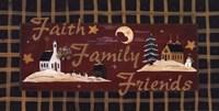 Faith, Family, Friends Fine-Art Print