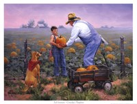 Grandpas Pumpkins Fine-Art Print
