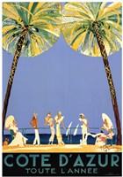 Cote d'Azur Fine-Art Print