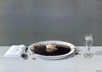Pig in Soup Fine-Art Print