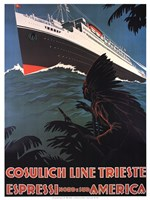 Cosulich Line Trieste Fine-Art Print