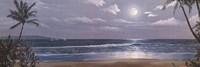 Moonlit Paradise II Fine-Art Print