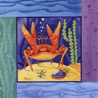 Seafriends-Crab Fine-Art Print