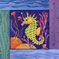 Seafriends-Seahorse Fine-Art Print
