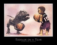 Toddler on a Tear Fine-Art Print