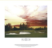 Sundown at Winged Foot's 10th Giclee
