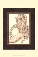 Sepia Boots I (HI) Fine-Art Print
