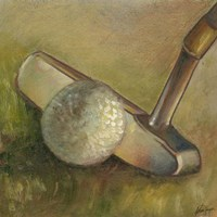 The Putter (P) Fine-Art Print