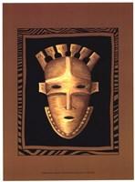 African Mask III Fine-Art Print