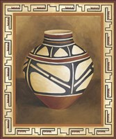 Southwest Pottery I Fine-Art Print
