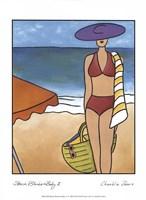 Beach Blanket Baby II Fine-Art Print