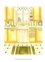 Retro Kitchen I Fine-Art Print