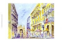 Street Scene, Puerto Rico Fine-Art Print