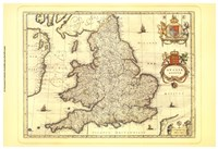 Anglia Map Fine-Art Print