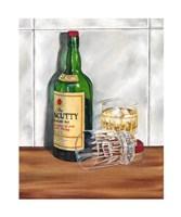 Scotch on the Rocks I Giclee