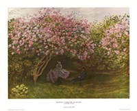 Resting under the Lilacs Fine-Art Print
