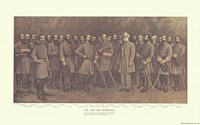 Robert E. Lee and his Generals Fine-Art Print