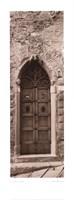 La Porta Via, Cortona Fine-Art Print