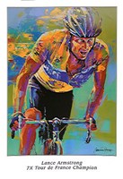Lance Armstrong - 7X Tour de France Champion Fine-Art Print