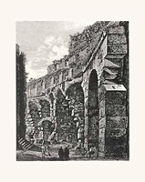Views Of Rome (Portrait) B&W Fine-Art Print