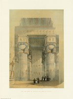Egypt - Temple Of Dendra Fine-Art Print