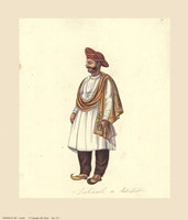 Indian Costumes Fine-Art Print