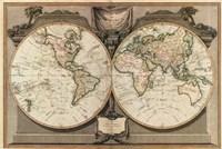 New Map of the World Fine-Art Print