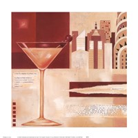 Manhattan Cocktails Fine-Art Print