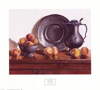 Peaches & Pewter Fine-Art Print