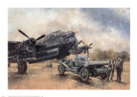 A Lancaster and a Bentley Fine-Art Print