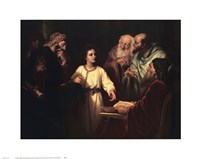 Christ in the Temple Fine-Art Print