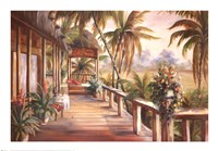 Tropical Retreat II Fine-Art Print