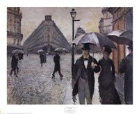 Paris, a Rainy Day, 1877 Fine-Art Print