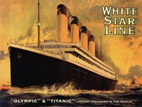 Olympic & Titanic Fine-Art Print