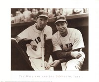 Ted Williams & Joe DiMaggio, 1951 Fine-Art Print
