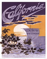 California ad Fine-Art Print