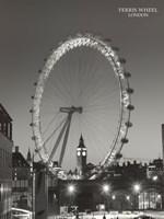 Ferris Wheel, London Fine-Art Print