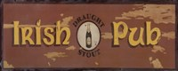 Draught Stout Irish Pub Fine-Art Print
