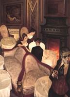 Confessions over Champagne Fine-Art Print