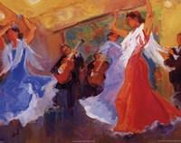 La Celebracion del Baile Fine-Art Print