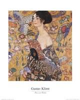 Lady with Fan, c.1917 Fine-Art Print
