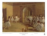 Dance Foyer at the Opera Fine-Art Print