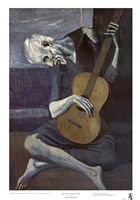 Old Guitarist Fine-Art Print