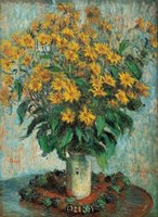 Vase of Chrysanthemums Fine-Art Print