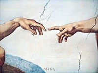 The Hands of God and Man Fine-Art Print