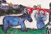 Blue Donkey Fine-Art Print
